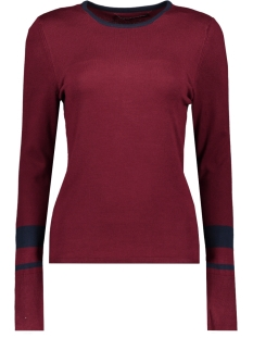 Only Trui ONYEMILY L/S PULLOVER KNT 15185868 Tawny Port/W. NIGHT SKY