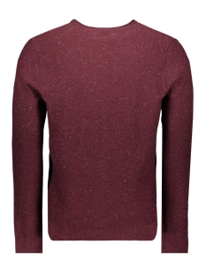 onsdian 12 naps crew neck knit only & sons trui zinfandel