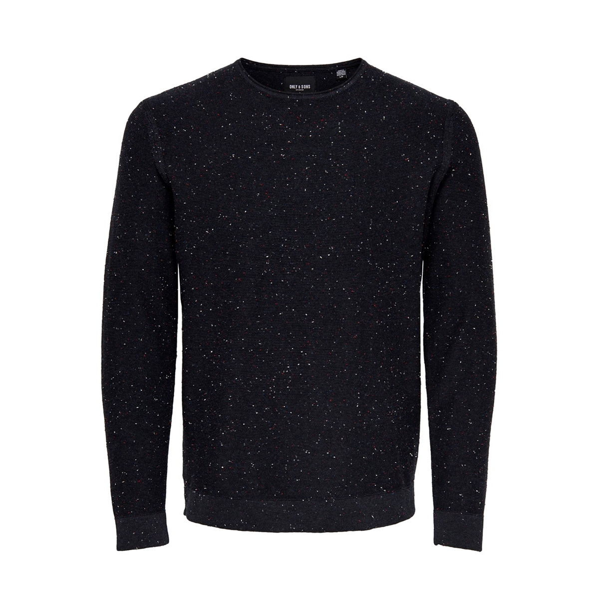 onsdian 12 naps crew neck knit only & sons trui dark navy