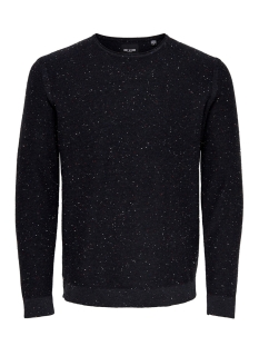 Only & Sons Trui ONSDIAN 12 NAPS CREW NECK KNIT Dark Navy