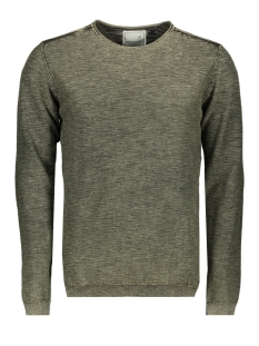 NO-EXCESS Trui KNITTED PULLOVER 92230702 059 DK Army