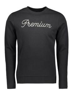 2f9cf81693b Nieuw Jack & Jones sweater JPRCATO BLA. SWEAT CREW NECK 12159824 Black/SLIM  FIT