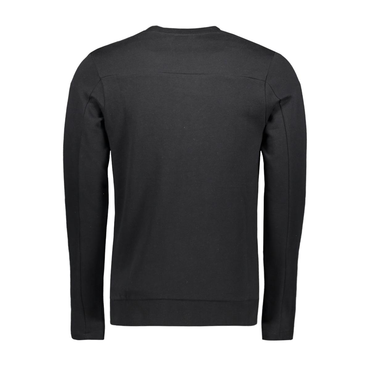 jprcato bla. sweat crew neck 12159824 jack & jones sweater black/slim fit