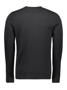 jprcato bla. sweat crew neck 12159824 jack & jones sweater black/slim fit