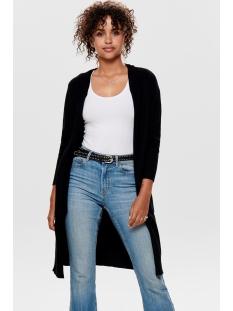 Jacqueline de Yong Vest JDYMARCO  L/S LONG CARDIGAN KNT NOOS 15184979 Black