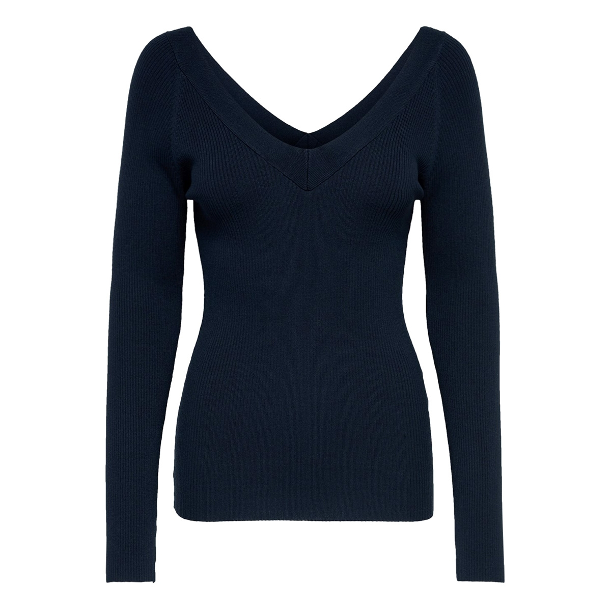 jdypippa treats l/s v-neck pullover 15176700 jacqueline de yong trui sky captain