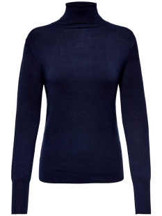 Only Trui ONLVENICE L/S ROLLNECK PULLOVER KNT 15183772 Night Sky