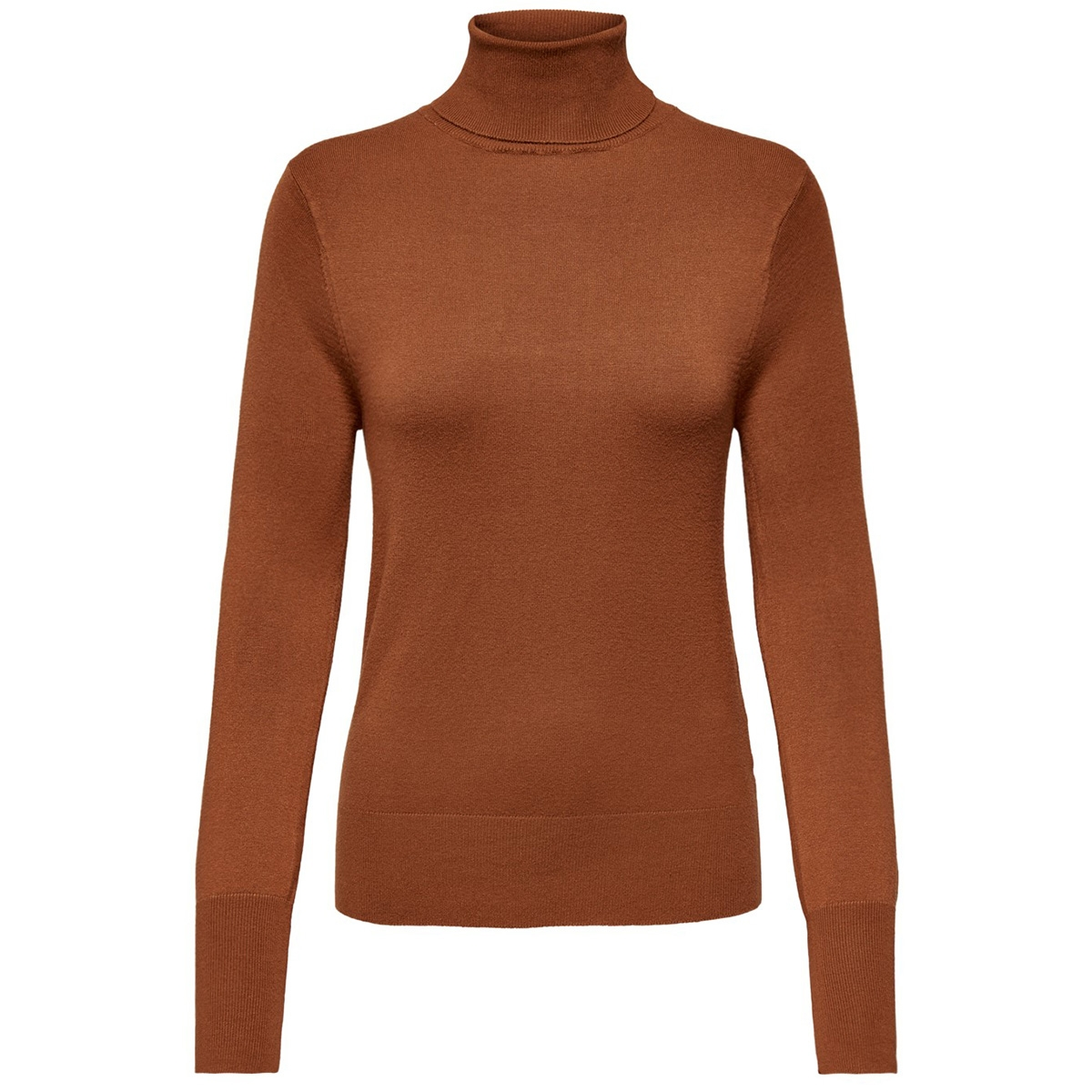 onlvenice l/s rollneck pullover knt 15183772 only trui ginger bread