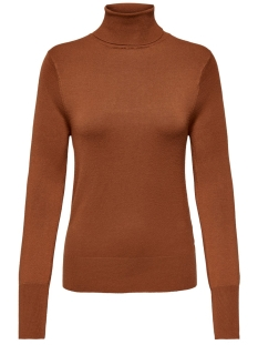 Only Trui ONLVENICE L/S ROLLNECK PULLOVER KNT 15183772 Ginger Bread