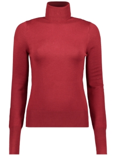 Only Trui ONLVENICE L/S ROLLNECK PULLOVER KNT 15183772 Merlot