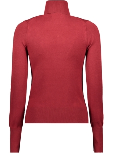 onlvenice l/s rollneck pullover knt 15183772 only trui merlot