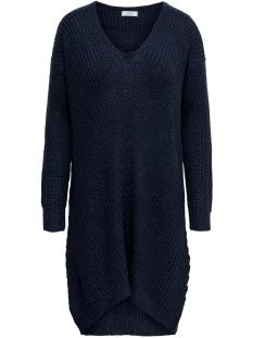 Jacqueline de Yong Jurk JDYTAMMY L/S V-NECK DRESS KNT 15184126 Sky Captain Melange