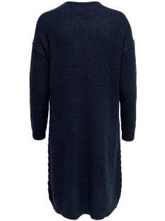 jdytammy l/s v-neck dress knt 15184126 jacqueline de yong jurk sky captain melange