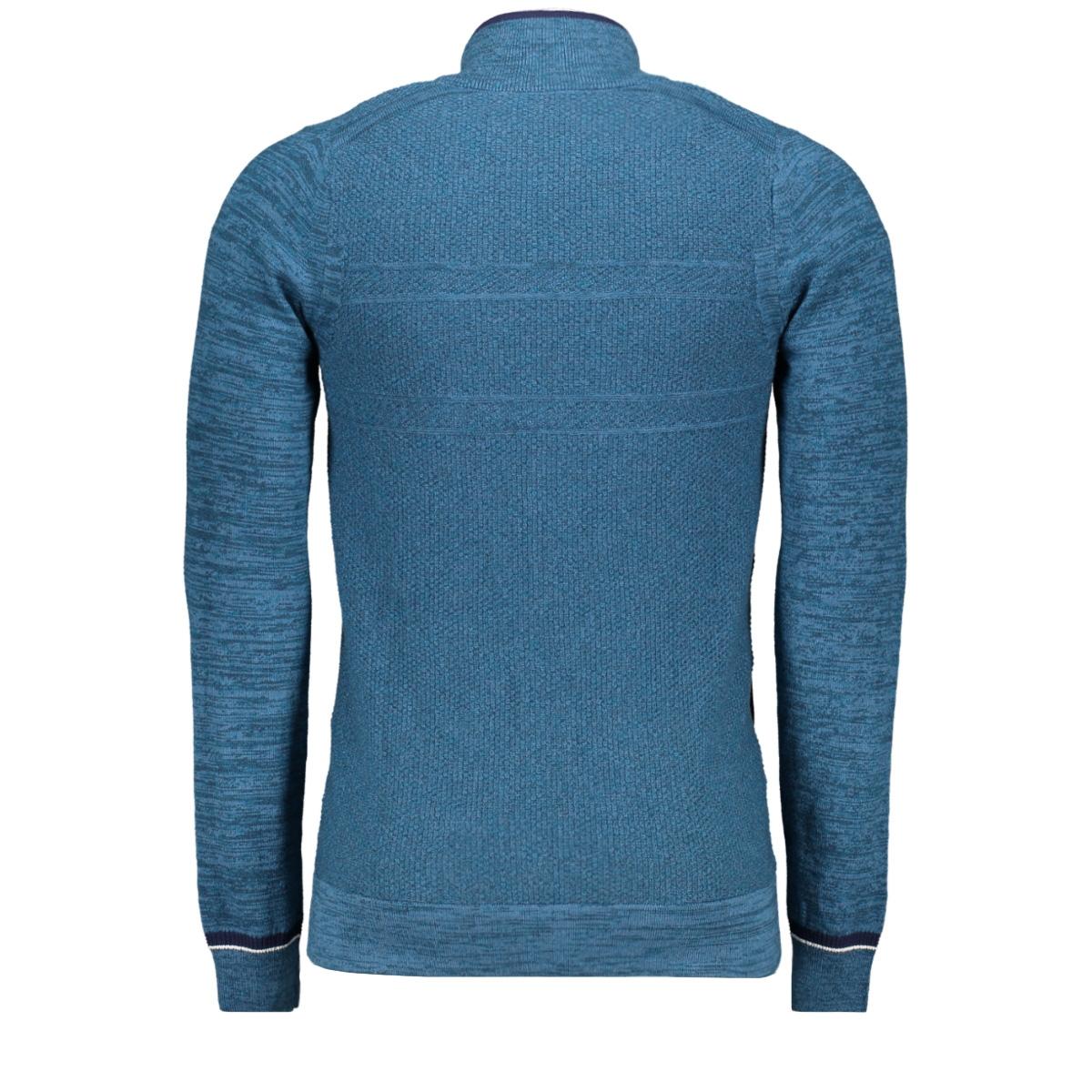 cotton melange zip jacket ckc195443 cast iron vest 5233