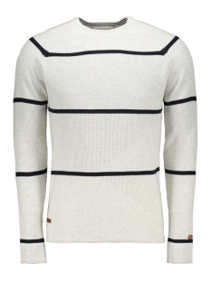 Cast Iron Trui STRIPED COTTON PULLOVER CKW195402 7001