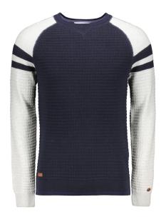 cotton colorblock pullover ckw195403 cast iron trui 5287