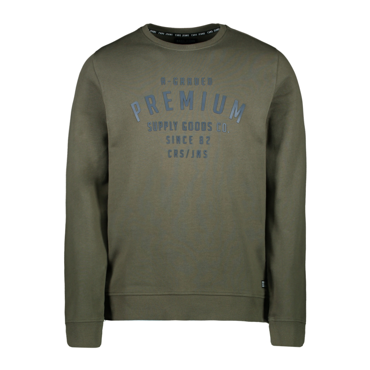 herald sw 4331019 cars sweater army