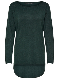Only Trui ONLMILA LACY L/S LONG PULLOVER KNT 15109964 Green Gables/W. MELANGE