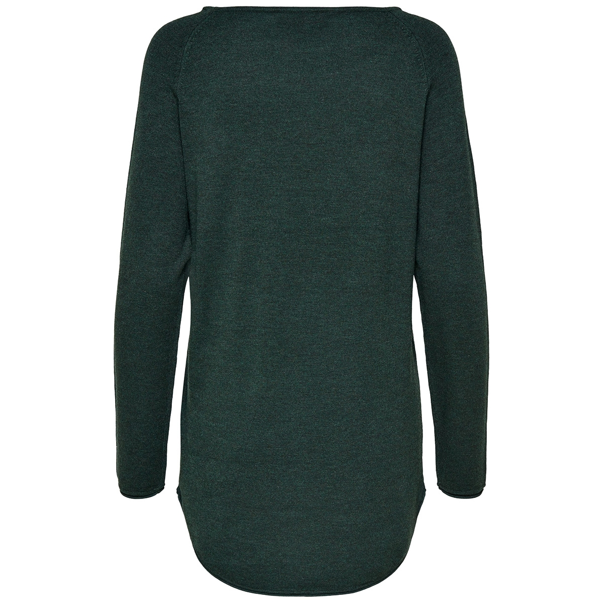 onlmila lacy l/s long pullover knt 15109964 only trui green gables/w. melange