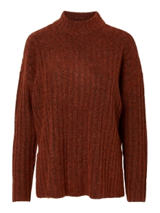 Pieces Trui PCNEW SANNI LS WOOL  KNIT NOOS 17097450 Picante