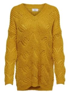 ONLHAVANA L/S V-NECK PULLOVER CC KN 15181406 Golden Yellow