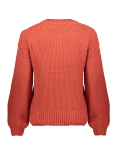 nmjulle  l/s o-neck cable knit 5bg 27008295 noisy may trui tandori spice