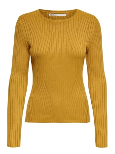 Only Trui ONLNATALIA L/S RIB PULLOVER KNT NOOS 15169458 Harvest Gold
