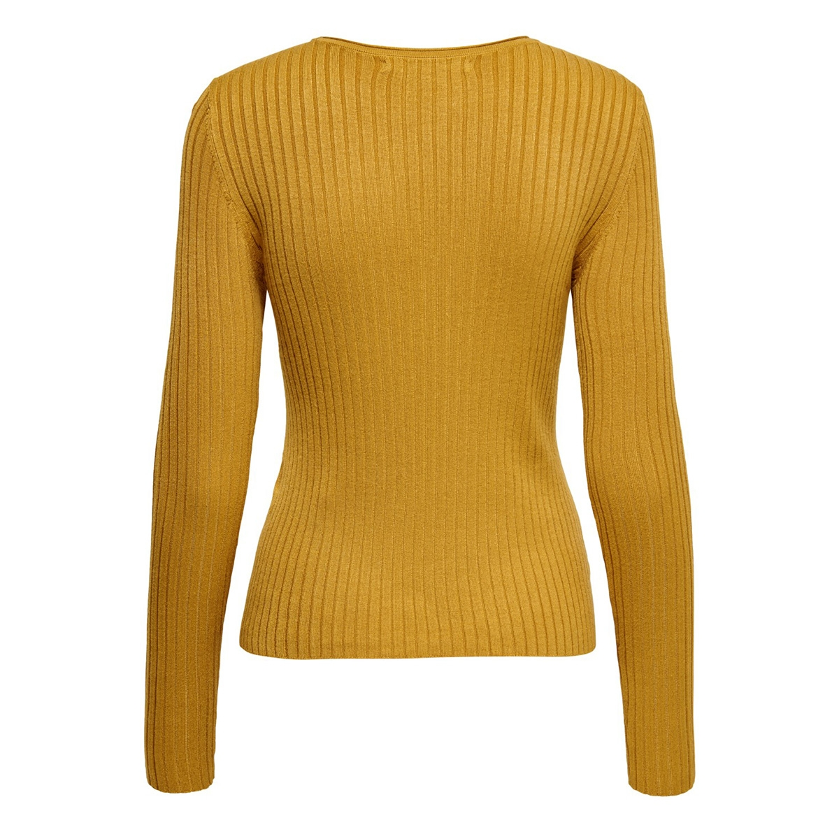 onlnatalia l/s rib pullover knt noos 15169458 only trui harvest gold