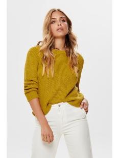 jdyjusty 7/8 noos pullover knt 15154667 jacqueline de yong trui harvest golds