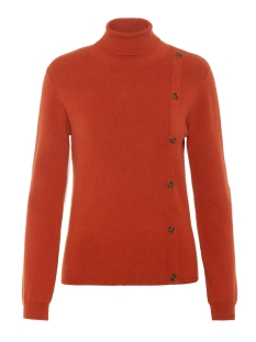 Pieces Trui PCICY LS ROLL NECK KNIT 17099545 Picante