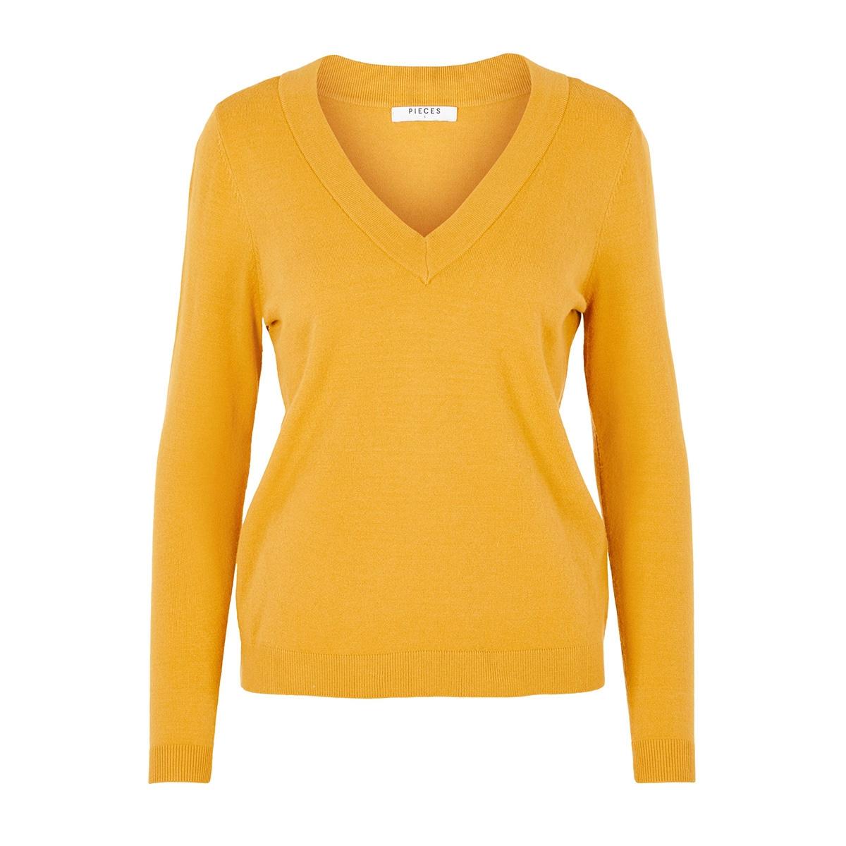 pckalissa ls v-neck knit 17098914 pieces trui arrowwood