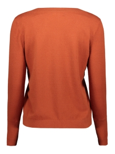 pckalissa ls v-neck knit 17098914 pieces trui picante