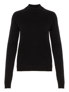 Pieces Trui PCKALISSA LS HIGH NECK KNIT NOOS 17093409 Black