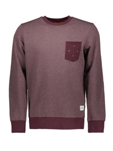 Jack & Jones Trui JCOHEX SWEAT CREW NECK 12158831 Fudge/Melange