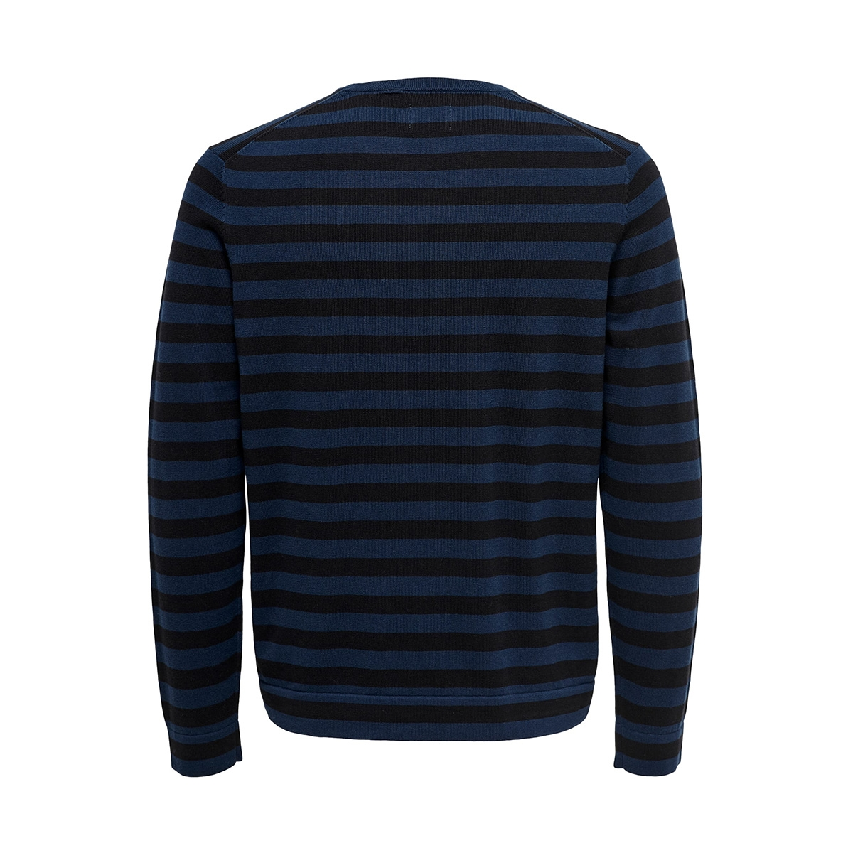 onsalex 12  crew neck knit 22014779 only & sons trui dress blues/black