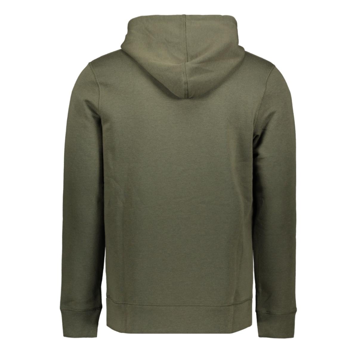 jcomondo sweat hood 12157721 jack & jones sweater forest night