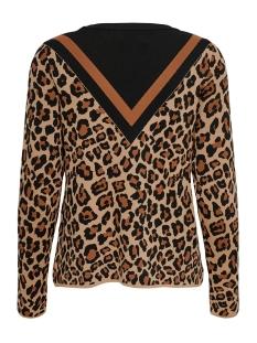 onllisa leo l/s pullover knt 15194390 only trui autumnal/w. leopard