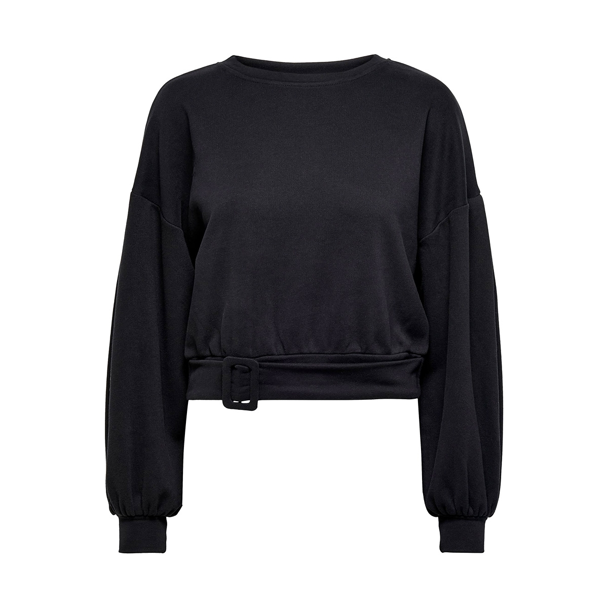 onltiri l/s o-neck swt 15190629 only sweater black
