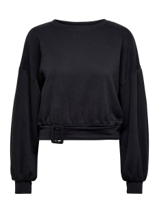 Only sweater ONLTIRI L/S O-NECK SWT 15190629 Black