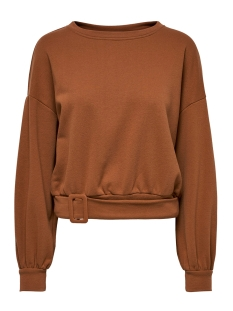 onltiri l/s o-neck swt 15190629 only sweater ginger bread