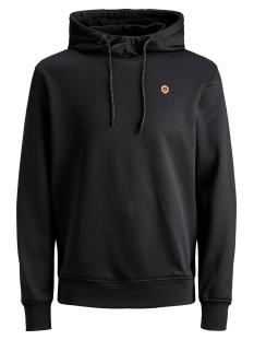Jack & Jones sweater JCOKEYNES SWEAT HOOD 12157170 Black