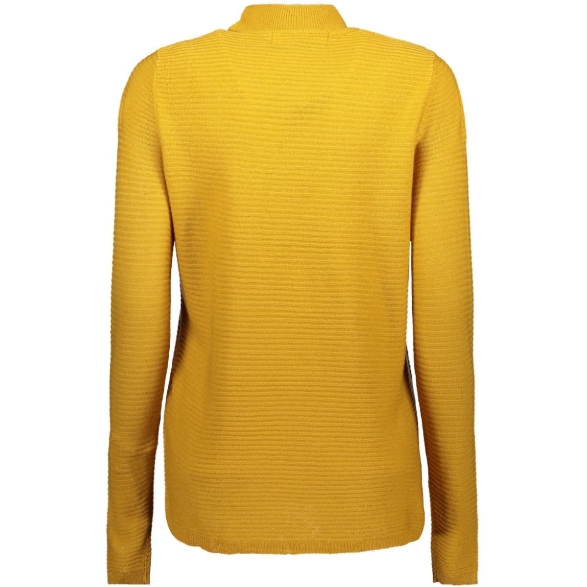 vmbobbie ls highneck blouse color 10208398 vero moda trui amber gold