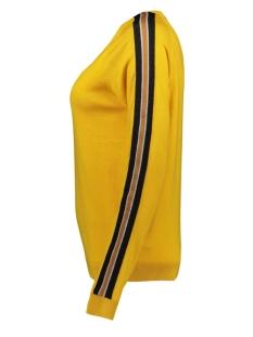 trui met sportieve strepen i90049 garcia trui 8120 golden rod