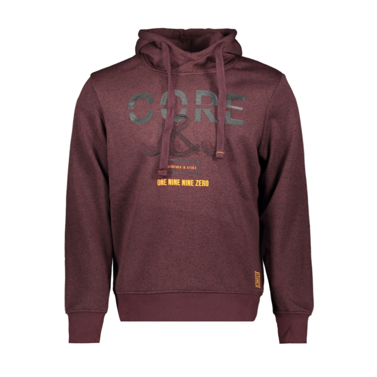 jcomari sweat hood 12157847 jack & jones sweater fudge