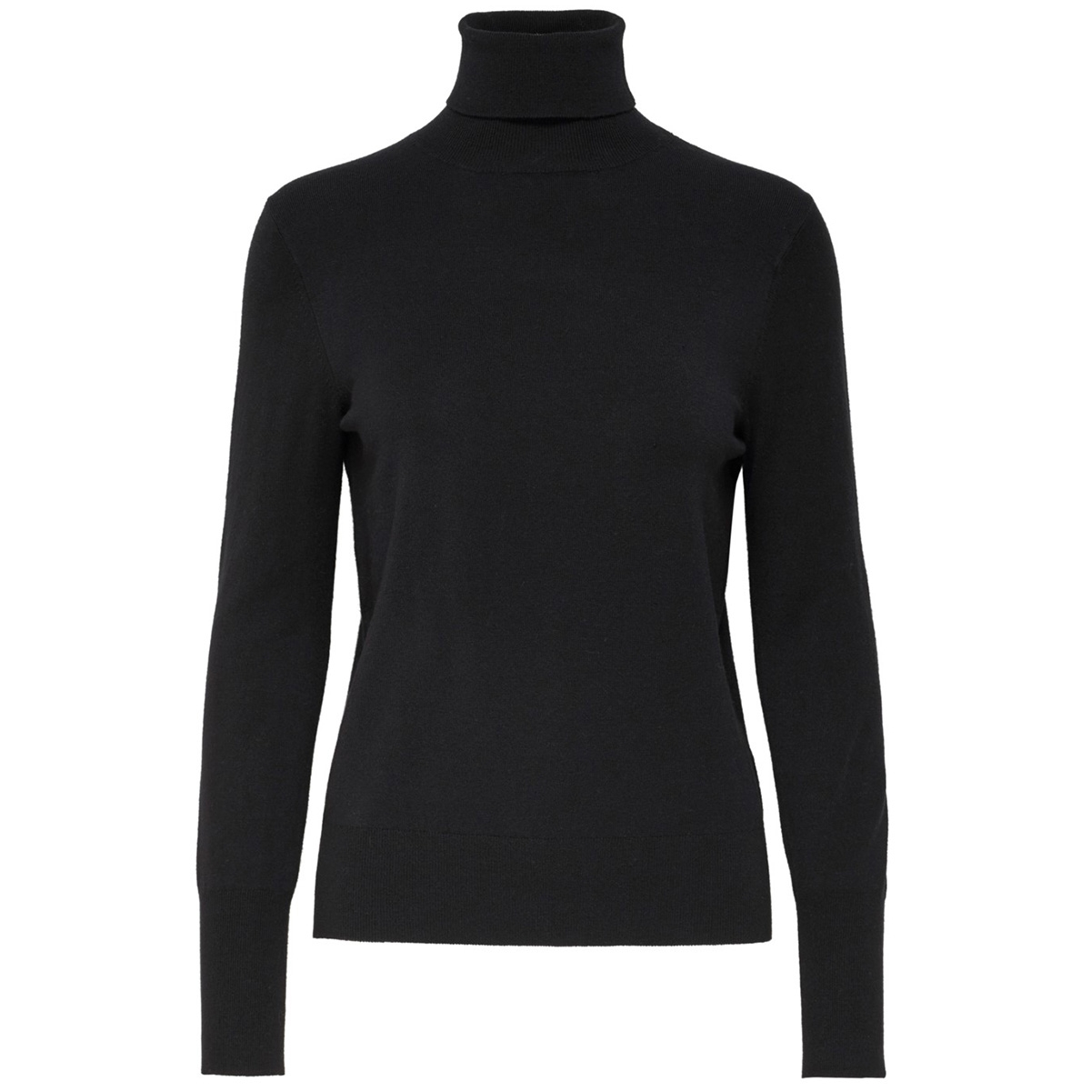 onlvenice l/s rollneck pullover knt 15183772 only trui black