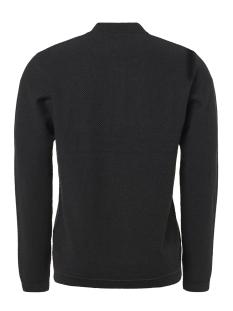 half zip jacquard pullover 92230810 no-excess trui 025 motor black