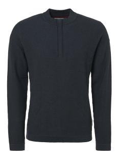 half zip jacquard pullover 92230810 no-excess trui 157 sea green