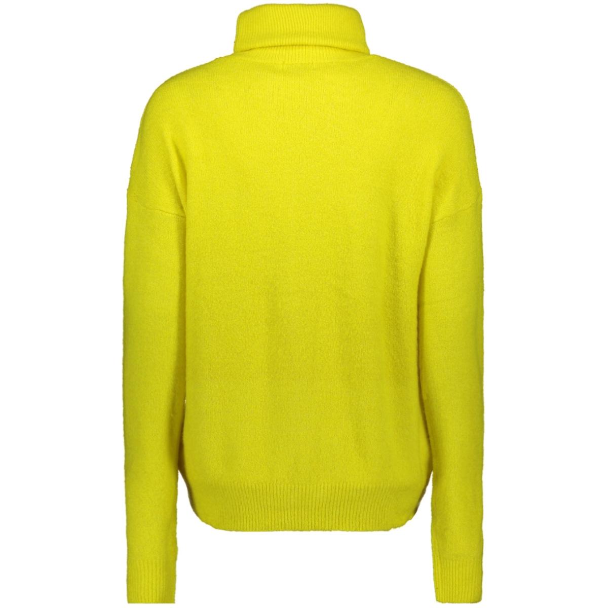 jdymia l/s neon roll neck pullover 15197152 jacqueline de yong trui neon yellow