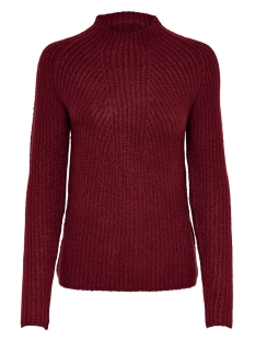 Jacqueline de Yong Trui JDYGOODIE TREATS HIGHNECK PULLOVER 15176734 Pomegranate