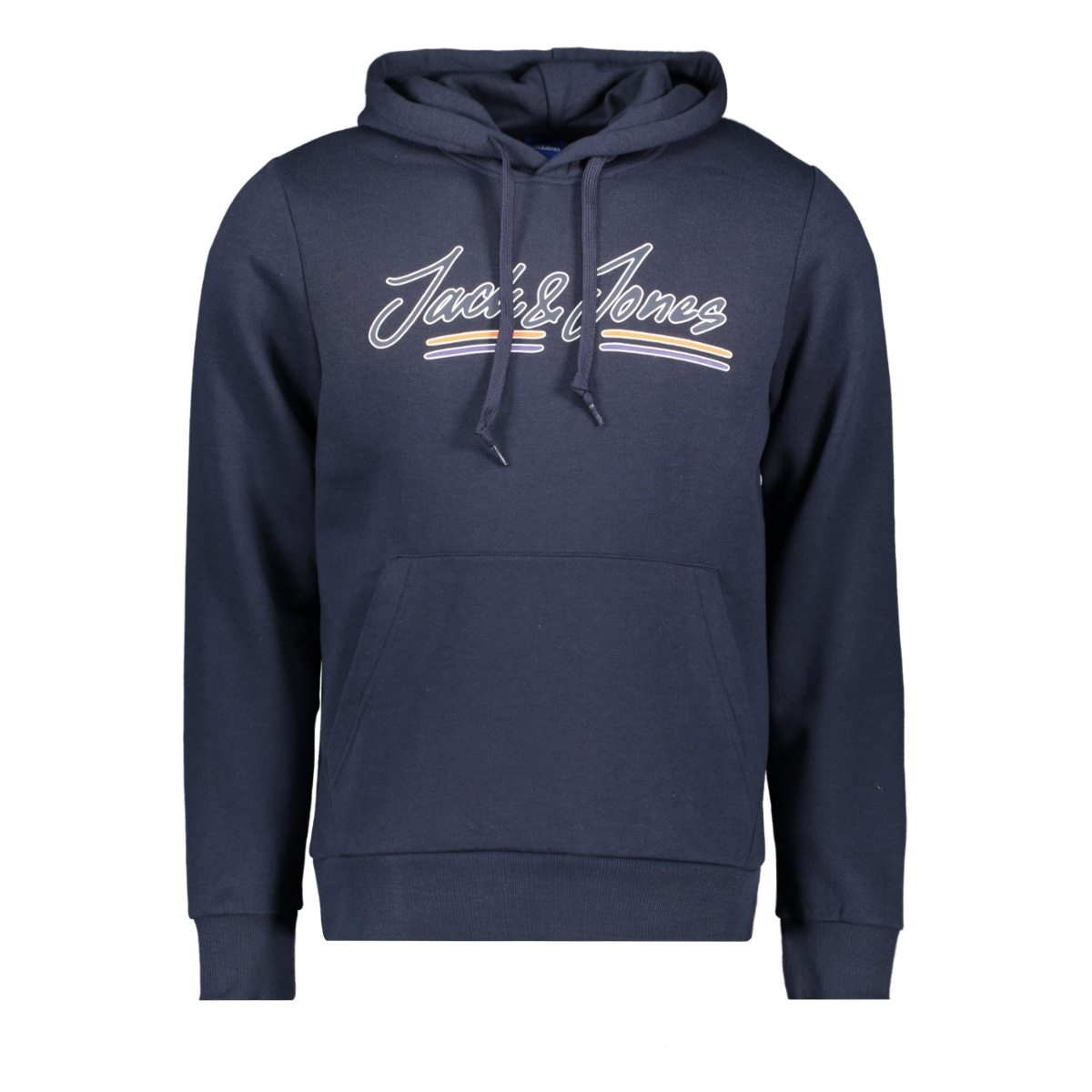 jorfranco sweat hood 12158105 jack & jones sweater navy blazer/slim